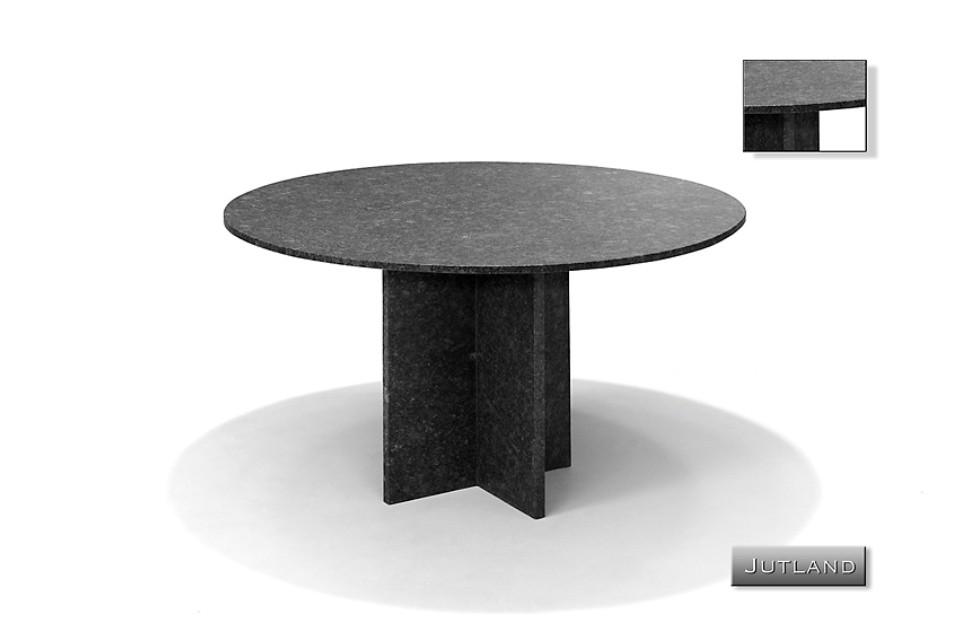 gartentisch rund 120 cm jutland naturstein studio 20. Black Bedroom Furniture Sets. Home Design Ideas