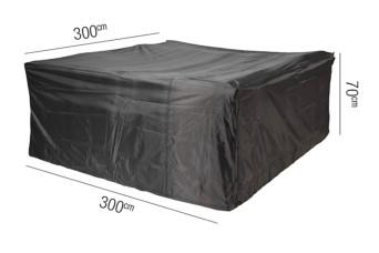 Loungesethoes AeroCover Platinum 300 x 300 cm