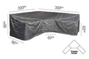 Loungesethoes AeroCover Platinum 300 x 2300 L-vorm Trapeze