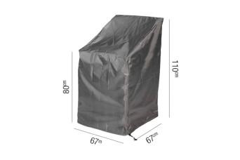 Stapelstoelhoes AeroCover Platinum 67 x 67 cm