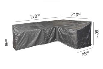 Loungesethoes AeroCover Platinum 270 x 210 cm Rechts