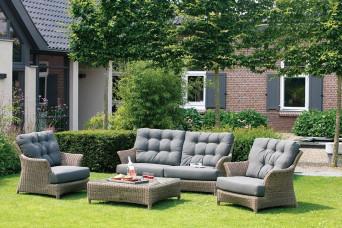 Loungeset Valentine | Wicker Pure | 4 Seasons Outdoor