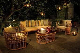 Bongo Loungeset Wicker Artie Garden Tuinmeubelen