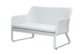 Breeze Loungebank Sofa Buitenleder Aluminium Passion Outdoor Living
