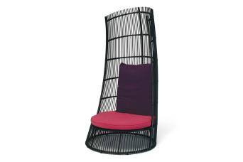 Cage Loungestoel Wicker Apple Bee