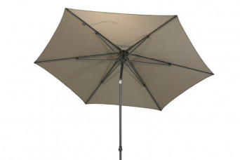 category 4 Seasons Outdoor | Parasol Azzurro Ø 300 cm | Taupe 759150-31