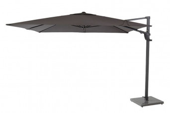 category 4 Seasons Outdoor | Parasol Horizon Premium 300 x 300 cm | Antraciet 759163-31