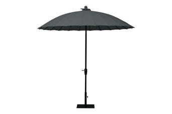 4 Seasons Outdoor   Parasol Shanghai 250 cm   Charcoal 750239-31