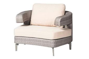 Artie | Embrace Loungestoel Graniet Grijs 701494-31