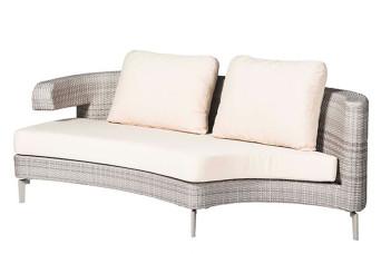 Artie | Loungebank 2-zits Rechts Embrace | Graniet Grijs 700801-31