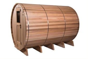 Fasssauna Sauna Grandview 7+3 Rustic Aussensauna 400261-31