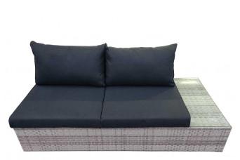 Fonteyn | Loungebank 2-zits Links Salou | Light Grey 759251-31