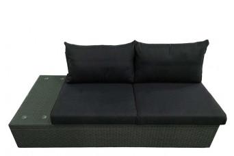 Fonteyn | Loungebank 2-Zits Rechts Salou | Dark Grey 759237-31