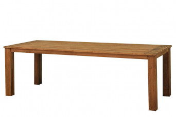Esstisch-Gartentisch 240 x 100 cm Java Aufgearbeitetes Teakholz Fonteyn 750529-31