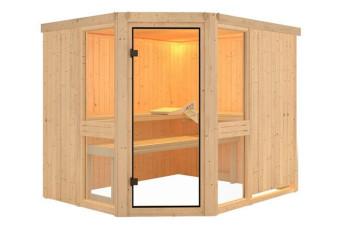 Karibu | Sauna Amelia 3 | Helderglas 400189-31