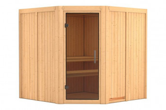 Karibu | Sauna Jarin | Deur Antracietglas 401127-31