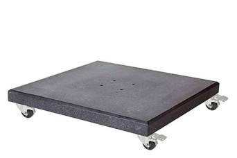 Platinum   Parasolvoet Modena Graniet met Wielen   90 kg 750826-31