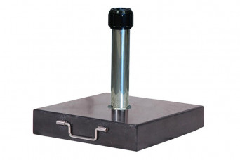 Platinum   Parasolvoet Rome Graniet   60 kg 750832-31