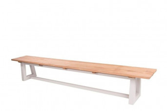 SUNS | Tuinbank Ovada 280 x 40 cm | Matt White 758741-31