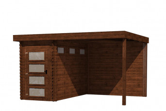 Gartenhaus/Blockhütte Fonteyn Module 400 x 300 FMB1530L250W250-31