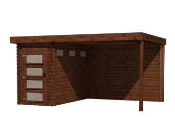 Gartenhaus/Blockhütte Fonteyn Module 450 x 300 FMB1530L300W300-31