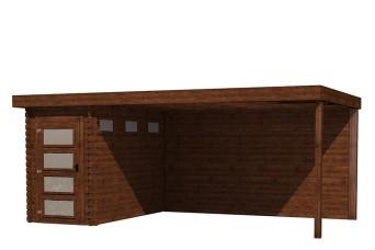 Gartenhaus/Blockhütte Fonteyn Module 550 x 300 FMB1530L400W400-31