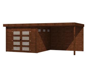 Gartenhaus/Blockhütte Fonteyn Module 700 x 300 FMB3030L400W400-31