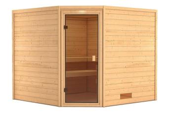 Woodfeeling | Sauna Leona | Bronzeglas 400219-31
