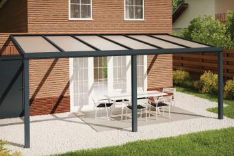 Fonteyn Terrassenüberdachung Comfortline 606cm x 300cm RAL7016 300036-31