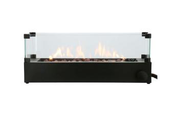Cosi | Cosiburner Build Up Opbouwbrander | Zwart | Incl. Glas 503972-31