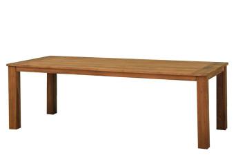 Eettafel 220x100 cm Java Teak Fonteyn 750528-31