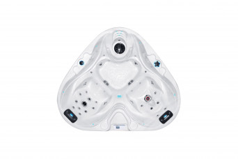 Whirlpool Heart Spa 210x170x78 cm 100069-31
