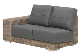 4 Seasons Outdoor | Loungebank Kingston 2-zits Rechts | Pure 700101-31