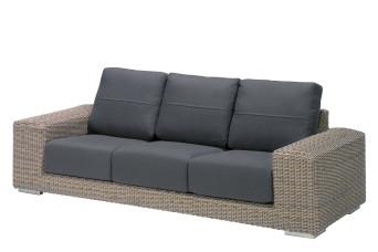 4 Seasons Outdoor | Loungebank Kingston 3-zits | Pure 700094-31