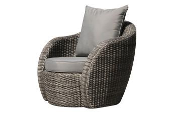 Artie | Loungestoel Lotus | Charcoal 701150-31