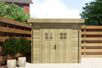Gartenhaus/Blockhütte Fonteyn Mandy Hochdruck-Imprägniert 250 x 200 cm 20956-31