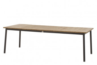 Apple Bee | Tuintafel Milou 240 x 100 cm | Teak-Black 759334-31
