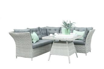 Morris Loungeset Lounge-Diningset Tuinset Wicker Vlechtwerk Fonteyn Collectie
