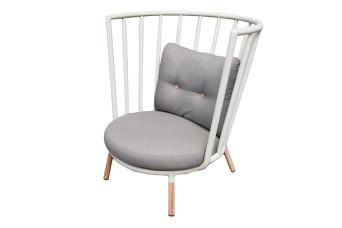 Kun Design   Loungestoel Pipe   Hoge Rug 702365-31