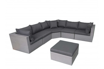 Fonteyn | Loungeset Salou XL | Dark Grey 759710-31