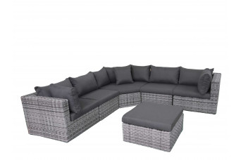 Fonteyn | Loungeset Salou XL | Halfmoon Dark Grey 759714-31