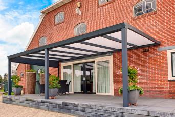 Terrassenüberdachung Trendline Polycarbonat Überdachung 300 x 300 cm 330262-31