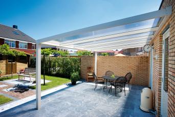 Terrassenüberdachung Trendline Polycarbonat Überdachung 300 x 350 cm 330263-31