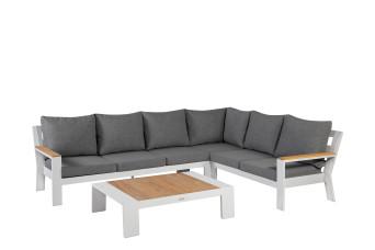 Exotan | Loungeset Valerie Rechts | White 759778-31
