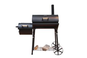 Fonteyn Grill Colorado Holzkohlegrill Smoker 500024-31