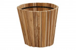 4 Seasons Outdoor | Plantenbak Miguel Teak 58 cm | Hoogte 50 cm
