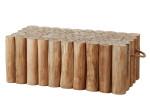 Apple Bee | Koffietafel Twiggy 95 x 70 x 35 cm | Met Handvaten
