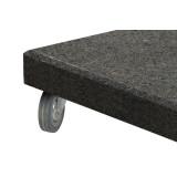 Rollen für Schirmständer Granit 125 kg - Set 4 Stück - 4 Seasons Outdoor