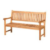 Gartenbank 3-Sitzer Comfort – FSC Teakholz – Persoon Outdoor Living