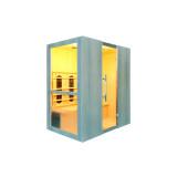 Sauna Levi 4 Exklusiv-Serie Vollspektrum - Infrarotkabine 2800 Watt